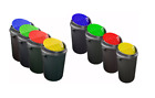 Plastic Round Recycle Bin Recycling Bin 25L 50L Waste Rubbish Bins Home Office