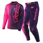 NEW TROY LEE MX 2017 GP Air Purple Pink Adult 50/50 Jersey & Pants Outfit TLD SX