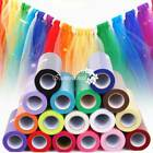 """6"""" 25Yds Tutu Tulle Roll Spool Wedding Party Gift Wrap Fabric Craft Decorations"""