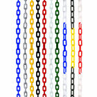 6mm Plastic Barrier Chain Link Safety Decorative Garden Fence, 5m, 10m, 15m, 25m