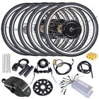 "26"" 500W 1000W Electric Bicycle Motor Conversion Front Rear Wheel 36V 48V VAT"