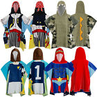 Nifty Kids Soft Cotton Hooded Poncho Towels Novelty Character Beach & Bath Wear