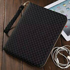 Detachable Zipper Bag PU Leather Card Wallet Stand Case Cover For Apple iPad