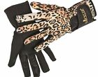 HKM GLOOCKLER  ANIMAL  LEOPARD  PRINT  RIDING GLOVES - LAST FEW NOW TO CLEAR