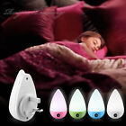 Automatic Sensor Led Night Light UK Plug In Low Energy Child Safety Night Light