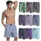 Men Stripes Sports Gym Pants Shorts Trousers Running Jogging Beach Casual Trunks