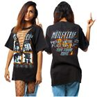 Punk Rock Sexy V Lace Up Blouse Top Tee T-shirt Women Club Party Mini Dress New