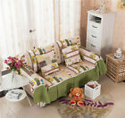Happy Holiday Canvas SlipCover Sofa Cover OusL Protector for 1 2 3 4 seater O