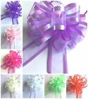 Beautiful Large 50mm Organza Pull Bows Wedding Party Gift Wrap Decoration Craft