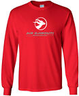 Air Djibouti Vintage Logo Djiboutian Airline Long-Sleeve T-Shirt