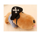 Plush toy stuffed doll pirate Indian style dog puppy pillow cushion present 1pc