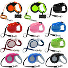 Retractable Dog Leash Auto Extendable Extending Pet Puppy Leads 3M/10FT 5M/16FT