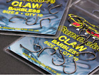 ATOMIC TACKLE CLAW HOOKS BARBED & BARBLESS (10 per pkt)   MULTI CHOICE