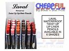Laval Waterproof Twist Up Lip LIner Pencil, Multi Shades Available