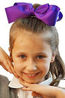 Dance-Solo-Troupes-Shows-Stage-Panto- LARGE CLIP ON BOW HAIR ACCESSORY