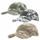 NWT US Military Tactical Operator Cap with Loop Patches Digital Desert Camo