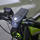 Solar Power USB Rechargeable Outdoor Torch Bike Bicycle LED Headlight Headlamp