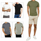 Threadbare Mens William Designer T Shirt New Luxury Jersey Classic Crew Neck Top