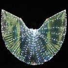 LED Isis Wings Belly Dance Wings with Rods Cosplay Dance Performance Butterfly
