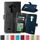 Magnetic Wallet Flip PU Leather Rubber Card Slot Case Cover Stand For Phone SKin