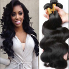 3 Bundles 300g Thick 100% Unprocessed Indian Human Hair Body Wave Extensions 8A