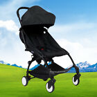 Pushchair Lightweight Mini Baby Stroller Buggy From Birth Black free shipping