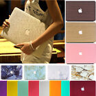 Matt Leather Quicksand Hard Case Cover for Macbook Air Pro 11 13