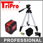 Self Leveling Stand Palm Cubic Pocket Cross Line Rotary Laser Level + Tripod