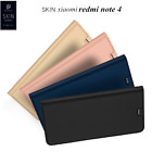 PU Leather Folio Flip Stand Wallet Card Case Shell Cover for Xiaomi Redmi Note 4