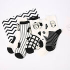 Cool Normcore Punk Figure Striped Cartoon Ankle Socks Line Anime Harajuku Sox