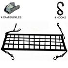 Web Net Netting for Pick Up Truck Tail Gate Tailgate Cargo Hold Rear End