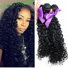 New Fashion bundles black curly hair extensions sexy women weave weft hair