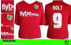 *07 / 08  - XARA ; NORWICH CITY AWAY  SHIRT SS / HOLT 9 = SIZE*