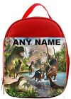 Personalised Dinosaurs/T Rex Lunch/Sandwich Bag *Pink Blue Red*