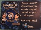 Disney ~ Disneyland 60th Diamond Celebration Disney Vacation Club Pin
