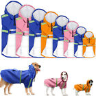 Waterproof Dog Raincoat Jacket Reflective Satety for Dogs Walking Outdoor 8 Size