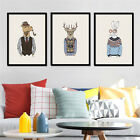Mr Animals Frameless Canvas Prints Kids Bedroom Wall Hanging Painting Home Decor
