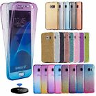 For Samsung Phone case cover shockproof 360°Protective Clear Gel Case Cover gal