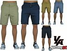 Mens Work Uniform Pants Chino Shorts Trousers with Pocket Slim Fit Casual