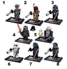 @CADEAU GEEK@ BLOCK STAR WARS SERIE 3 TROOPER JEDI DARK VADOR LEGO CONSTRUCTION