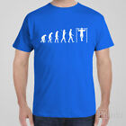 Funny cool T-shirt EVOLUTION OF CHIN-UPS gym gift idea - bodybuilding workout