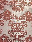 IMPERIAL DAMASK MESH LACE FABRIC BY THE YARD DECOR BRIDAL DRESS ACCESSORIES