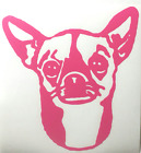 PERSONALIZED DOG'S NAME-CHIHUAHUA/VINYL DECAL STICKER 5 1/2 Inch
