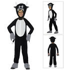 Smiffys Childs Deluxe Bull Plush Animal Farm Zip Up Fancy Dress Costume Outfit