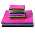 40Pcs Colourful Sewing Non-woven Fabric DIY Felt Handcraft Handmade Craft 3 Size