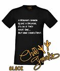 A WOMANS OPINION Adult Humour Funny Rude Joke Manist T-shirt Vest Tshirt