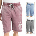 Threadbare Edwin Mens Jogging Shorts New Jersey Fleece-Back Knee Length Joggers