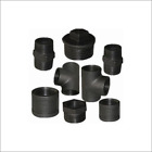 "BLACK MALLEABLE IRON PIPE FITTINGS BSP 1/8"" - 4"""