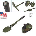 Folding Survival Camping Shovel Military Style Spade & Storage Pouch/Case