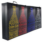 Paper Wine Bottle Carrier Gift Bags Hot Stamping Birthday Wedding Favor Party